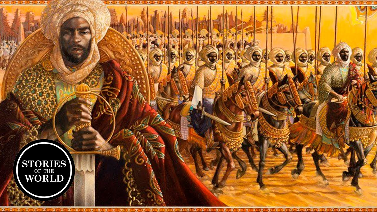 The RICHEST man in History! Mansa Musa!