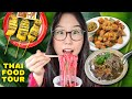 THAI FOOD TOUR 🍜 Street Food & Noodles in Greater Seattle, USA