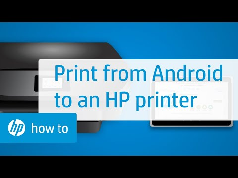 Printing To An HP Printer From Android | HP Printers | HP
