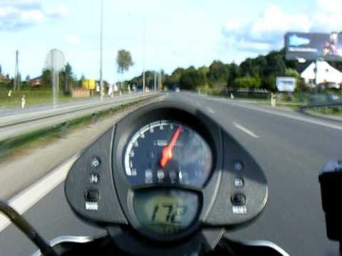 Kawasaki ER 6n easy riding pt.1