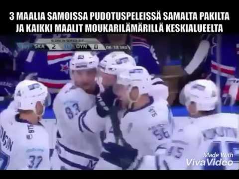 Kuteikin - The three goals from centre ice - khl playoffs 2016-2017