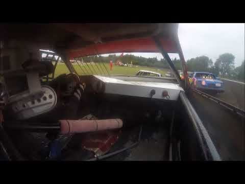Adam Snyder - Hobby Stock Heat - Murray County Speedway 8-25-17