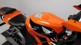 2008 Honda CBR600RR Orange - used motorcycle for sale - Eden Prairie, MN