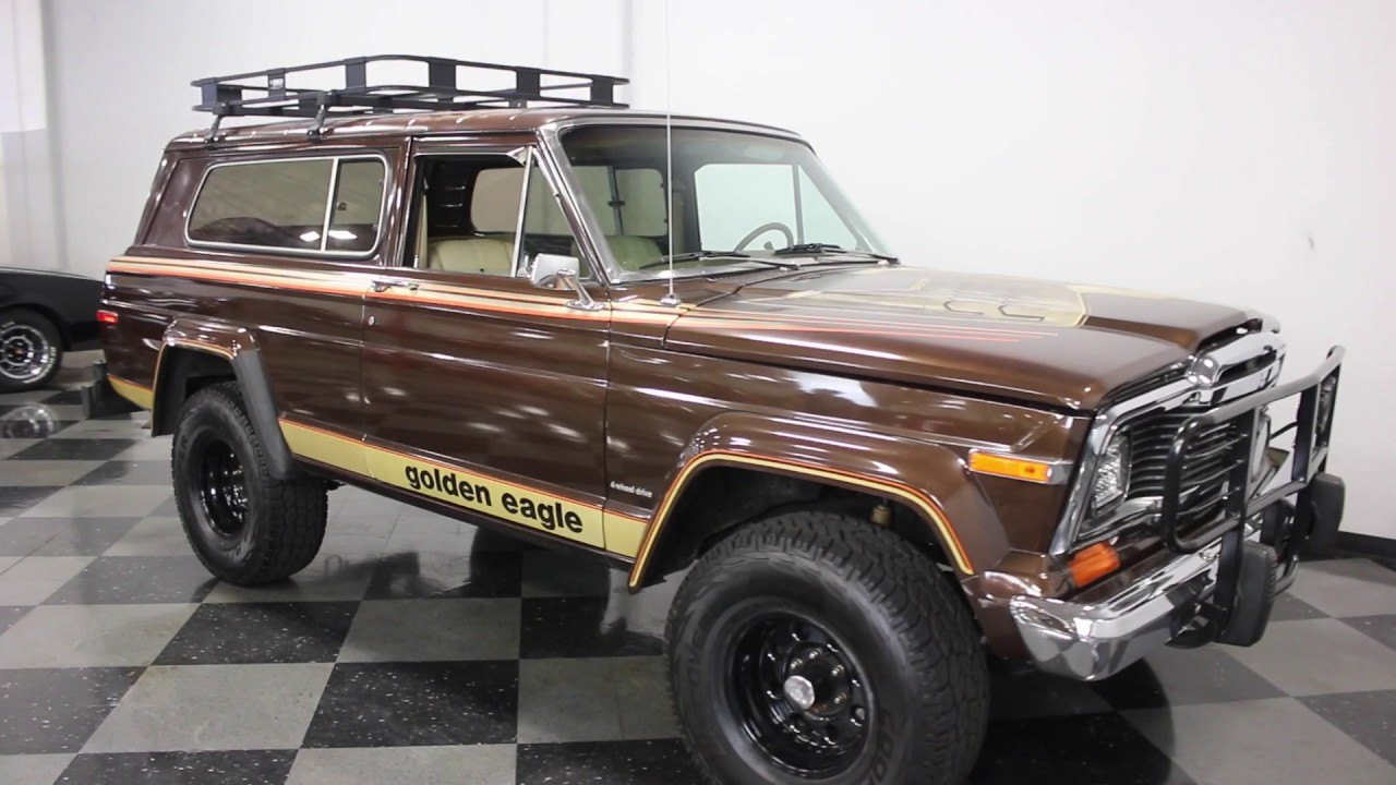 2236 dfw 1979 jeep cherokee chief - youtube