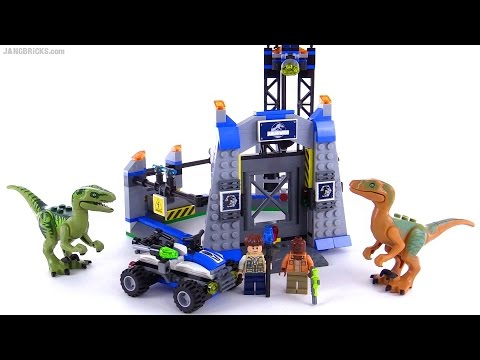 Lego Jurassic World Raptor Escape Review Set 75920 Youtube