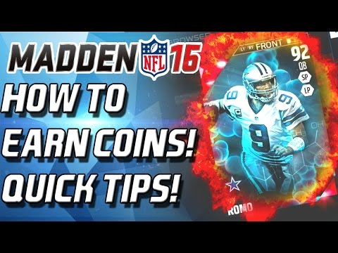 Madden 16 Ultimate Team - How To Earn Coins! Quick And Easy!
