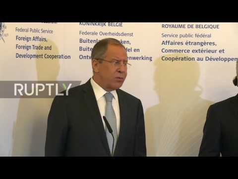 Belgium: 'How can this lady know what I like' - Lavrov rejects US PresSec's comments