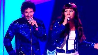 Rocío Quiroz y Rodrigo Tapari abrieron el ritmo #CarnavalCarioca cantando