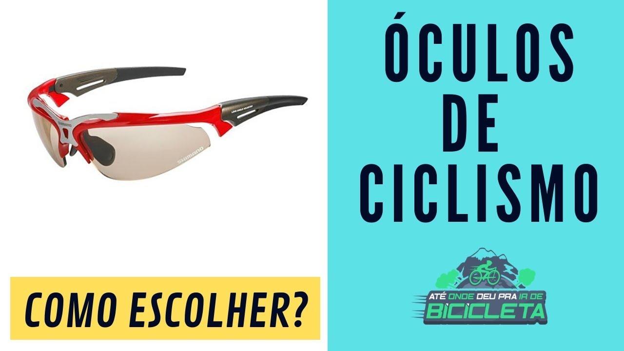 fdeca97d7 Óculos de ciclismo: saiba mais sobre eles e faça a escolha certa - Até onde  deu pra ir de bicicleta
