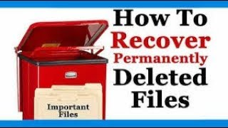 How to recover delete file computer /pc me delete files ko kese recovery kar sakte hai