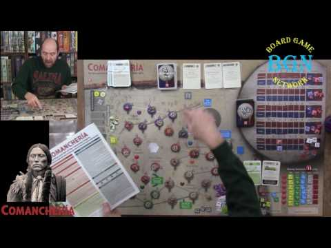 How to play Comanchería: The Rise and Fall of the Comanche Empire the solitaire board game
