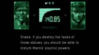 Metal Gear Solid - Alternate Psycho Mantis Boss Fight Method