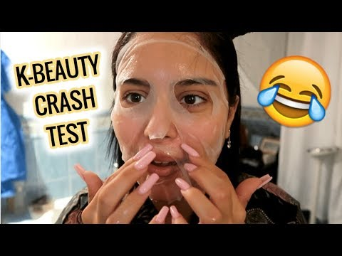 CRASH TEST K-BEAUTY | 1 MASQUE PAR JOUR PENDANT UNE SEMAINE! thumbnail