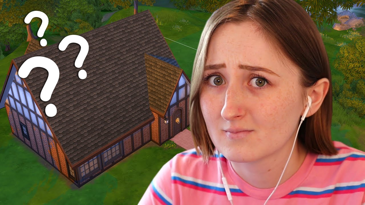 I'm trying to renovate a WEIRD starter home in The Sims 4 thumbnail