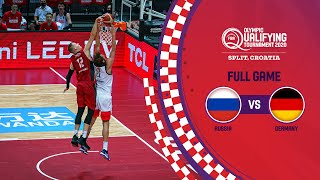 Russia v Germany | Full Game - FIBA Olympic Qualifying Tournament 2020