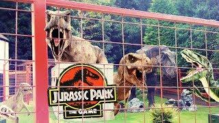 MAŁA KLATKA, DUŻO DINAZAURÓW! | Jurassic World Evolution [#9]
