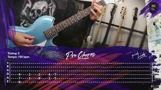 LINDEMANN - Steh auf // Cover & Guitar Lesson, Instrumental, Tabs