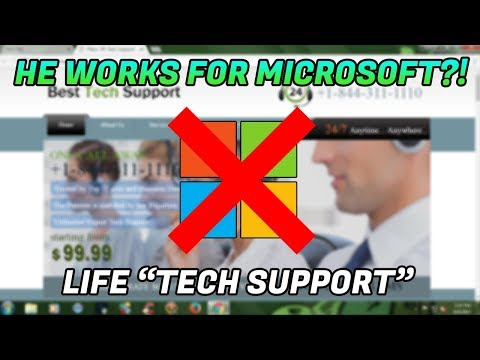 Tech Support Scam / He thinks he works for Microsoft?? - 866-856-3548 - LifeTechSupport