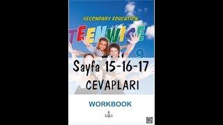 9.Sınıf İngilizce Çalışma Kitabı Cevapları Sayfa 15-16-17 MEB 2018-2019