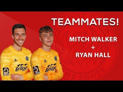 Team-Mates: Mitch Walker And Ryan Hall