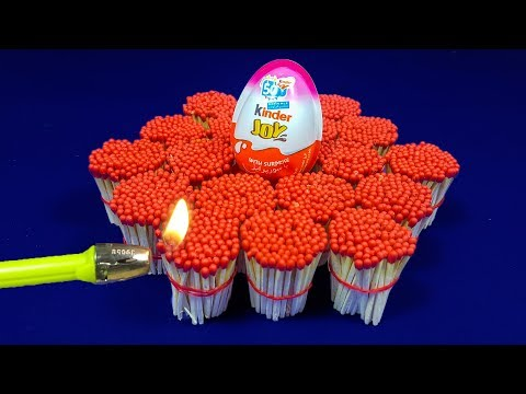 EXPERIMENT Match VS Kinder Joy