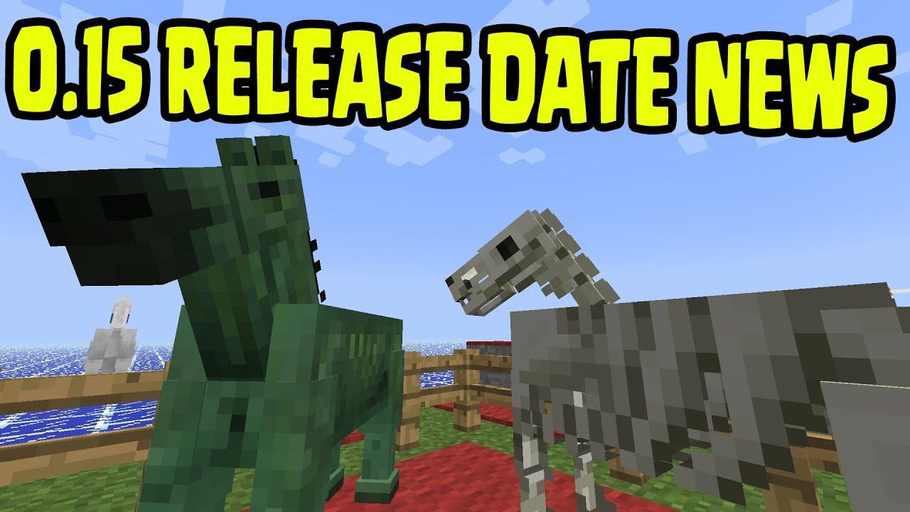 Minecraft Pocket Edition 0.15 Update BETA - RELEASE DATE ...
