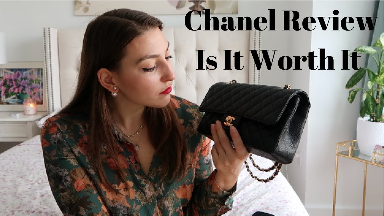 6d383bff6955 Chanel Medium Classic Flap Review - YouTube