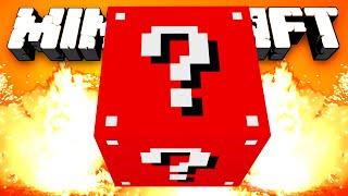 Minecraft Mods - EVIL LUCKY BLOCK RACE! w/Preston, BajanCanadian, Vikkstar, Woofless & Lachlan!