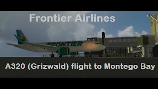 [ROBLOX] Frontier Airlines A320 flight