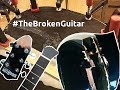 Fixing broken back and headstock on an acoustic guitar