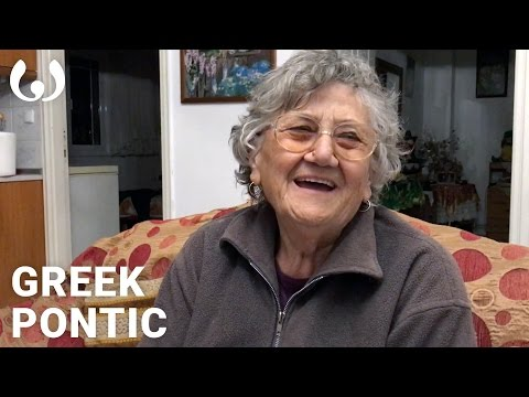 WIKITONGUES: Asimenia speaking Greek and Pontic