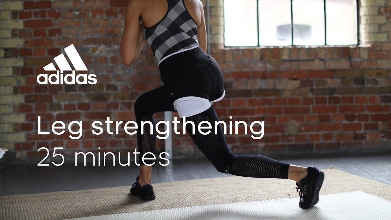 32e496abca866a 25 min Leg Strengthening Workout with Zanna van Dijk