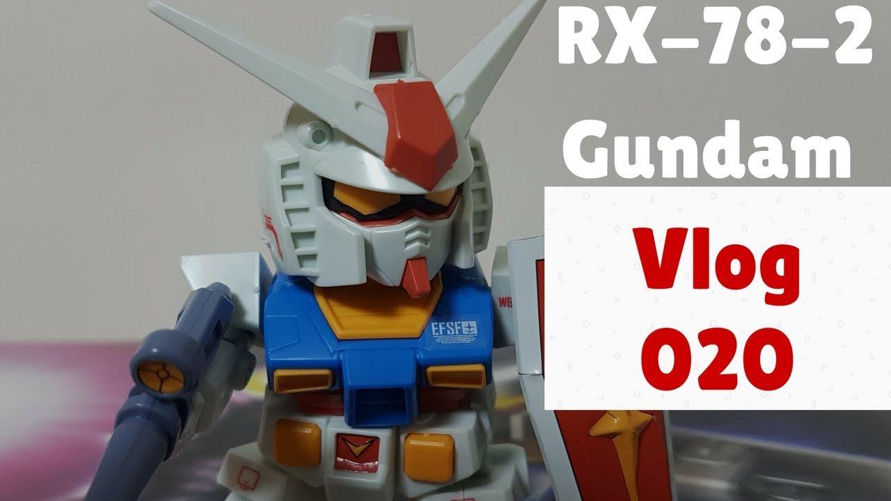 Rx 78 2 Gundam Model Kit Birthday Gift To Myself Vlog 20 Youtube