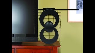 ClearStream™ 2V UHF/VHF Indoor/Outdoor HDTV Antenna - Assembly and Installation (Indoors)