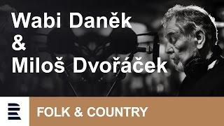 Wabi Daněk s kytaristou Milošem Dvořáčkem v Ostravě