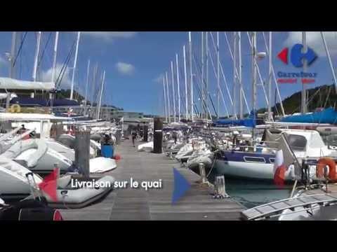 Présentation Carrefour market Marin Martinique