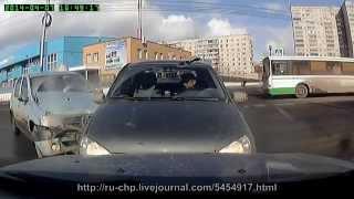 Подборка ДТП и ЧП от ru_chp №25, апрель 2014г.