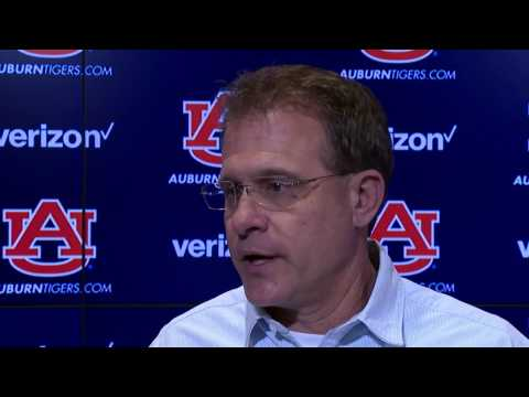 Gus Malzahn react to Auburn playing Oklahoma in the Sugar Bowl