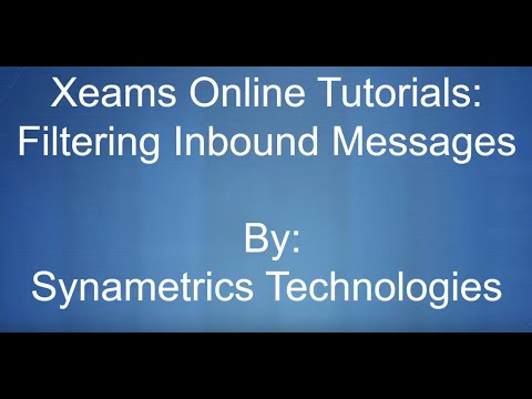 Filter Inbound Junk Emails With Xeams