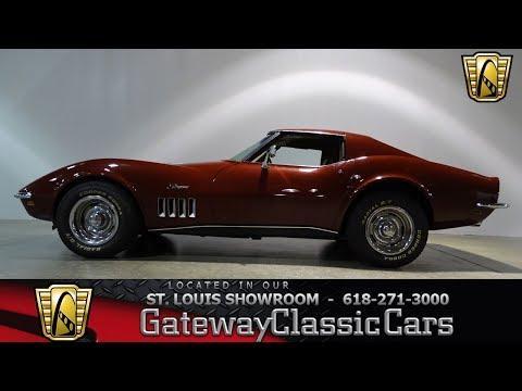 #7445 1969 Chevrolet Corvette - Gateway Classic Cars of St. Louis