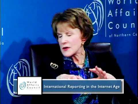 Margaret Warner on International Reporting in the Internet Age Highlight