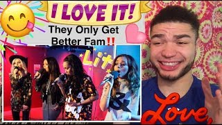 "LITTLE MIX (Wow Fam! WOW!😍) ""Live Lounge Holy Grail/Teen Spirit"" REACTION !!"