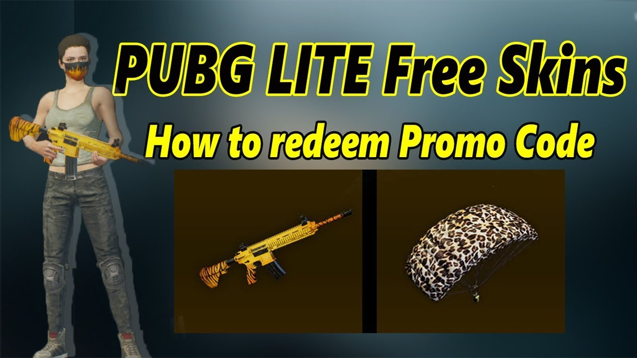 Pubg Lite How To Use Redeem Promo Code By Pubg