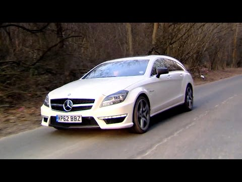 Trying The Mercedes CLS63 AMG Shooting Brake - Fifth Gear
