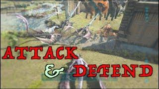 DEFENDING OUR MAIN SERVER - RETALIATION l Xbox Official Ark