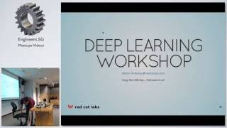 Deep Learning Workshop - DataScienceSG