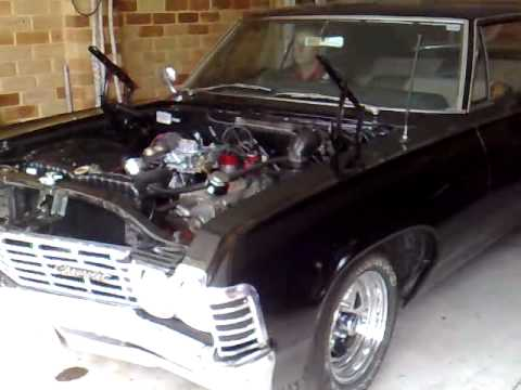 1967 Chevy Impala 383 stroker first start up