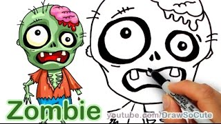 How to Draw a Zombie  Easy