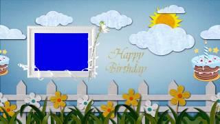 Kinder Geburtstag-Video-Hintergrund || DMX-HD-BG 258