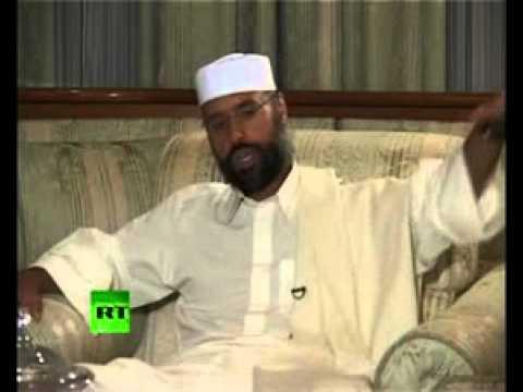 Gaddafi's son, Saif al-Islam: US looks on Libya as McDonald's